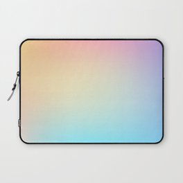 EUPHORIA / Plain Soft Mood Color Tones Laptop Sleeve