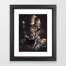Hellfire Framed Art Print
