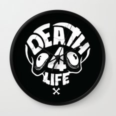 Death4life Wall Clock