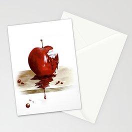 RED. Manzana Sangrienta (Caramelo Protector) Stationery Cards
