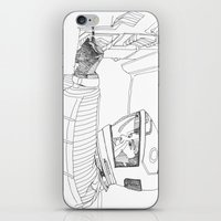 2001 iPhone & iPod Skins featuring 2001 A Space Odyssey by Ah Shun