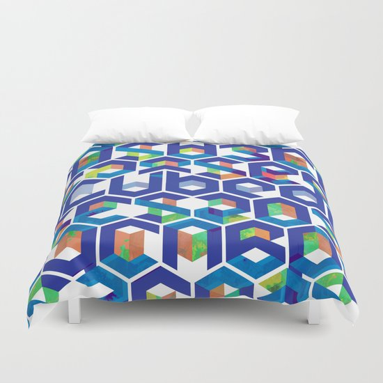 Cubed Balance Duvet Cover