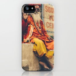 guru iPhone Case
