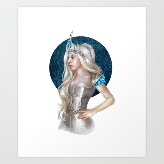 Ice Queen  Art Print