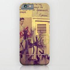 French Graffiti, Paris-2 iPhone 6s Slim Case