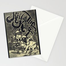 KILL THE KING AGAIN. Stationery Cards