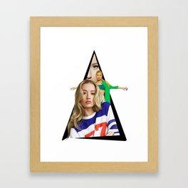 Youtriangle ∆ Iggy Azalea Framed Art Print