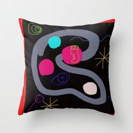 Universal DNA Throw Pillow