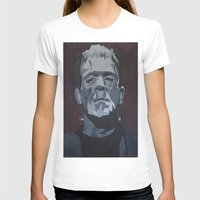 frankenstein T-shirts featuring Frankenstein by Paintings That Pop