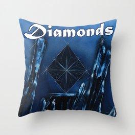 Diamonds Suit Throw Pillow