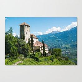 Lebenberg castle Canvas Print