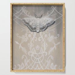Lace Moth Serving Tray