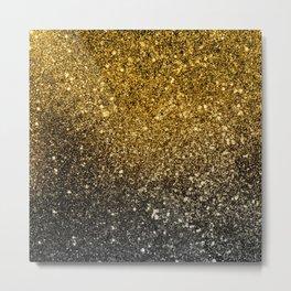 Ombre glitter #5 Metal Print
