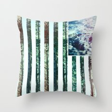 USA Wilderness Throw Pillow