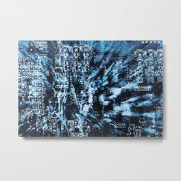 Circuit Board 14 Metal Print