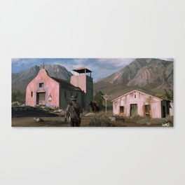 Red Dead Redemption Road Canvas Print