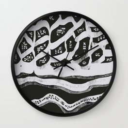 Abstract Composition 21 Wall Clock