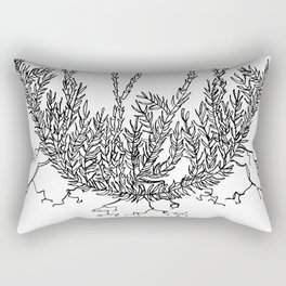Club moss Rectangular Pillow