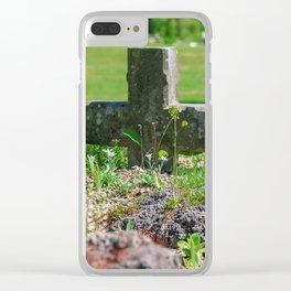 Alpine flower Clear iPhone Case