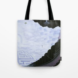 Existing Only In The Light / Reaching Tote Bag