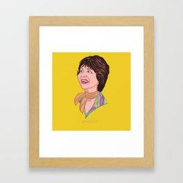 Shirley Framed Art Print