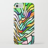 stained glass iPhone & iPod Cases featuring Stained glass by haroulita