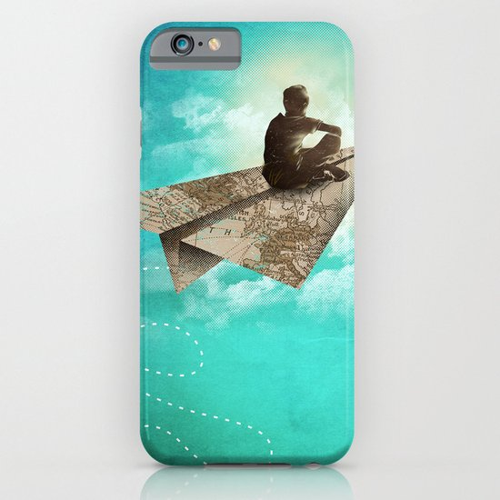 Paper Aeroplane iPhone & iPod Case