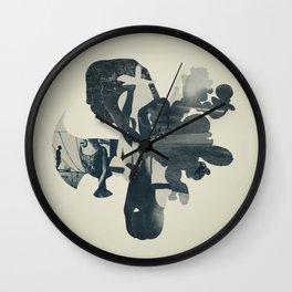embers of clarity Wall Clock