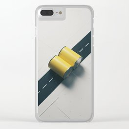 Steam Roller Clear iPhone Case