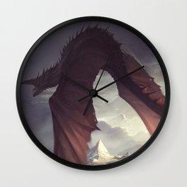 Dragon Chaser Wall Clock