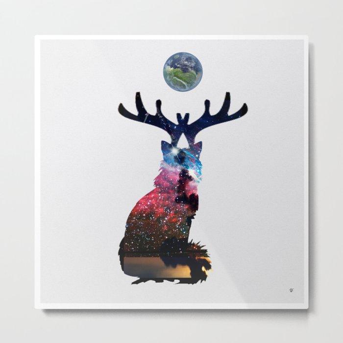FabCreature · CaDee 3 Metal Print