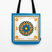 mexican Tote Bags featuring Mexican  by Petya Hadjieva (ragerabbit)