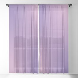 Alternate Flowers Sheer Curtain