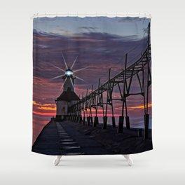 Diamond Light Shower Curtain