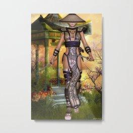 Yoshiko 2 Metal Print