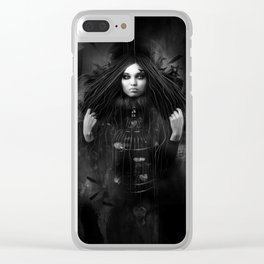 The cage Clear iPhone Case