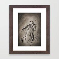 The Cellist Framed Art Print