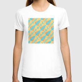 Chocktaw Geometric Square Cutout Pattern - New Mexico T-shirt