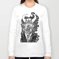 abyss Long Sleeve T-shirts featuring Abyss by Shahbab