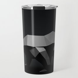 Low Poly Polar Bear Travel Mug