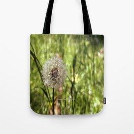 Dandelion Joy Tote Bag