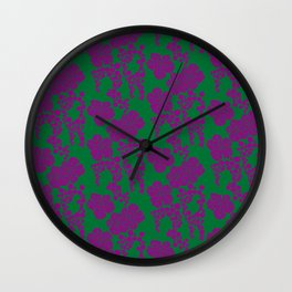 Japanese Pattern 9 Wall Clock