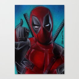 Dead Pool Canvas Print