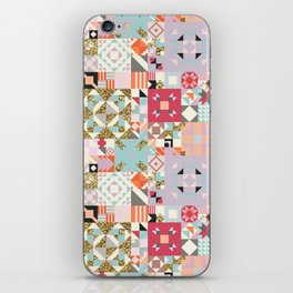 Moroccan Quilt Pattern iPhone Skin