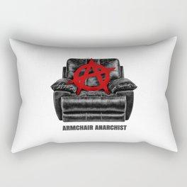 armchair anarchist Rectangular Pillow