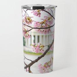 Jefferson through the Blossoms Travel Mug