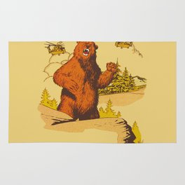 Watch Out for BearZilla Rug