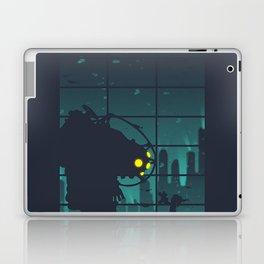 bioshock big daddy Laptop & iPad Skin