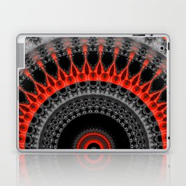 red black mandala Laptop & iPad Skin