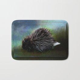 Porcupine Blackberry Brambles  Bath Mat